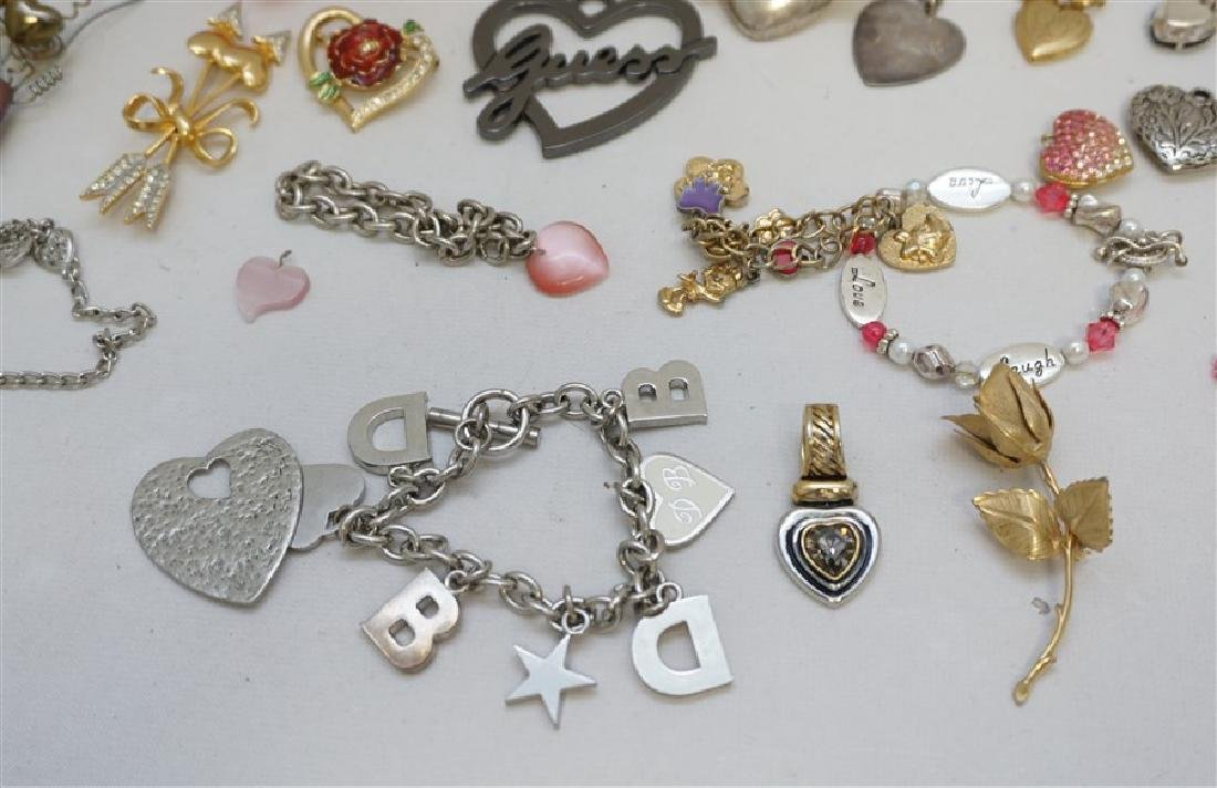 23 PC VALENTINE / HEART COSTUME JEWELRY - 3