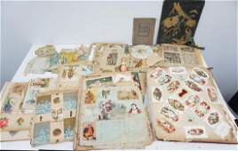 LARGE LOT SCRAP BOOKS, MAGAZINES AND MORE