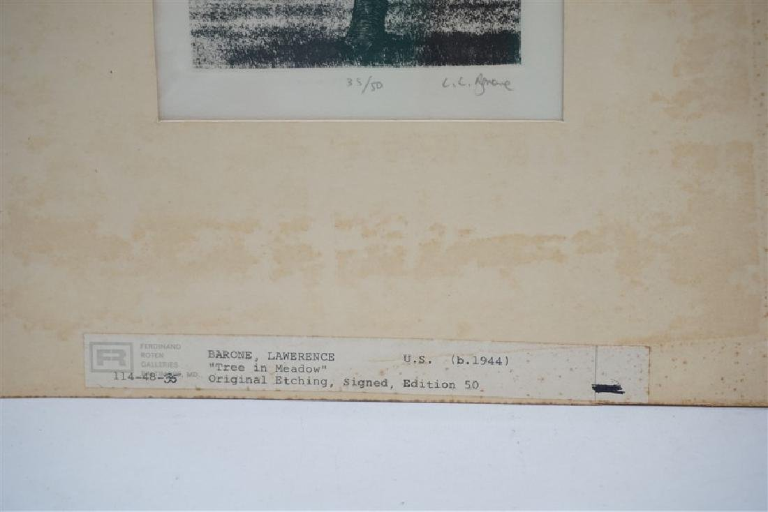 2 VTG BARONE & COLLETTE ETCHINGS - 3