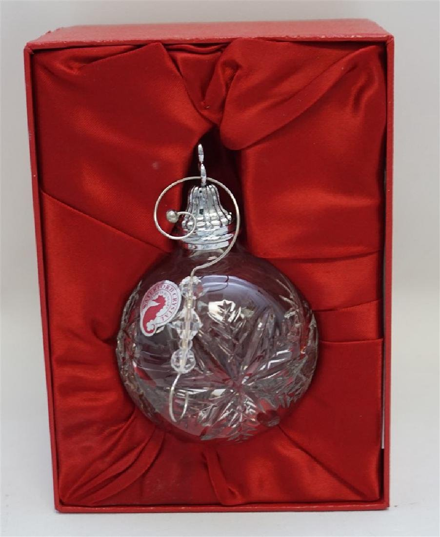 2010 WATERFORD CRYSTAL CHRISTMAS ORNAMENT