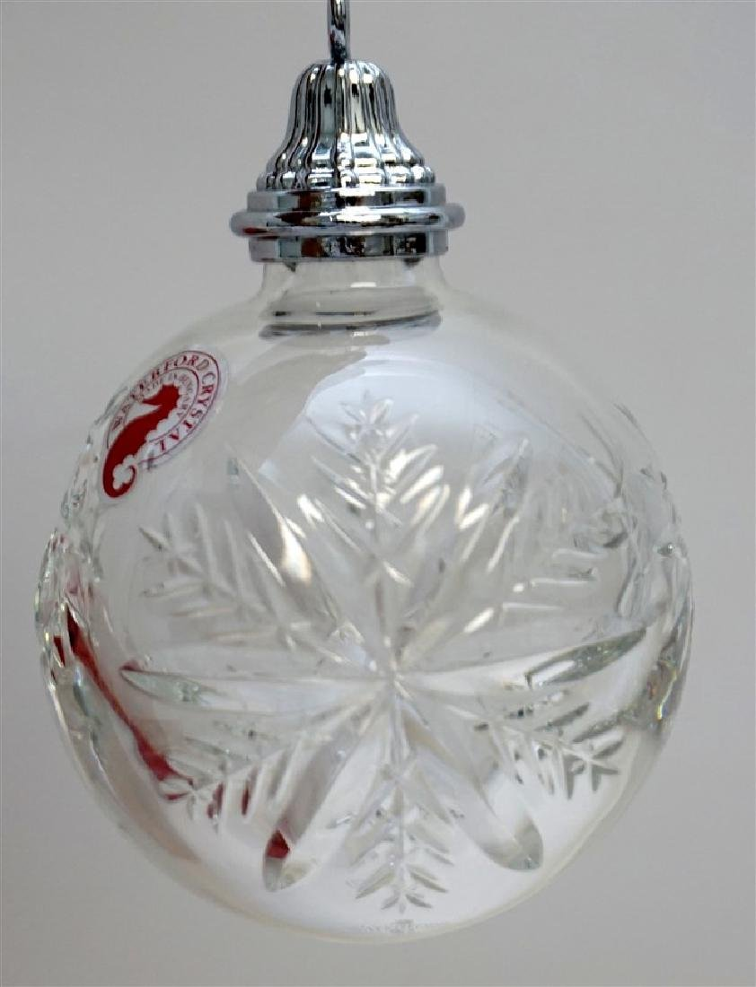 2010 WATERFORD CRYSTAL CHRISTMAS ORNAMENT - 2