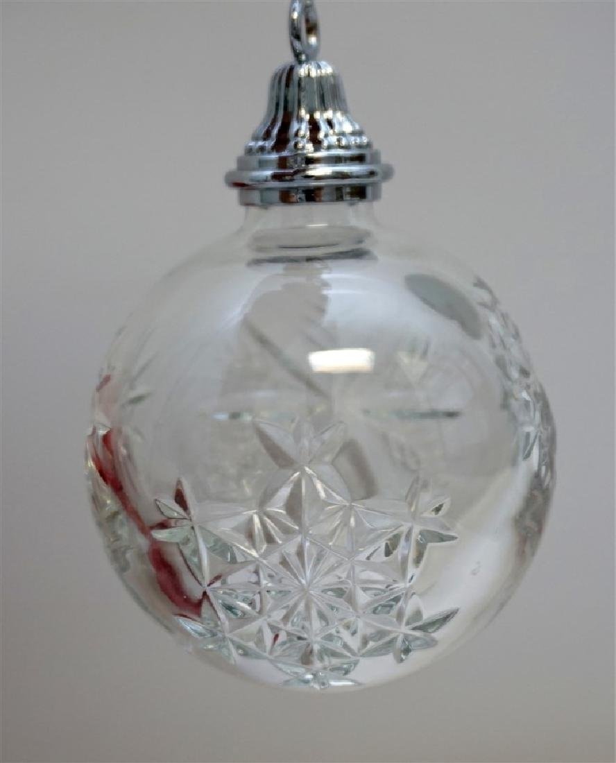 2010 WATERFORD CRYSTAL CHRISTMAS ORNAMENT - 4