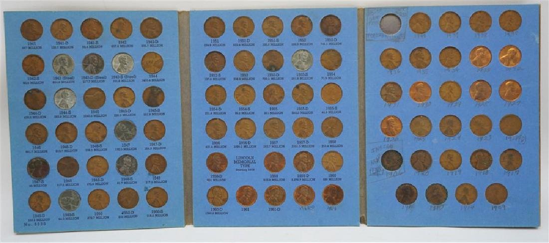 87 LINCOLN HEAD CENT PENNY COLLECTION 1906-1961