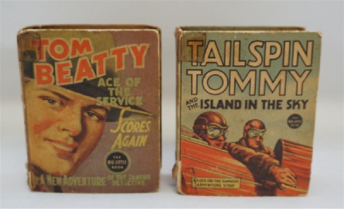 1936 & 1937 BIG LITTLE BOOKS TOM BEATTY