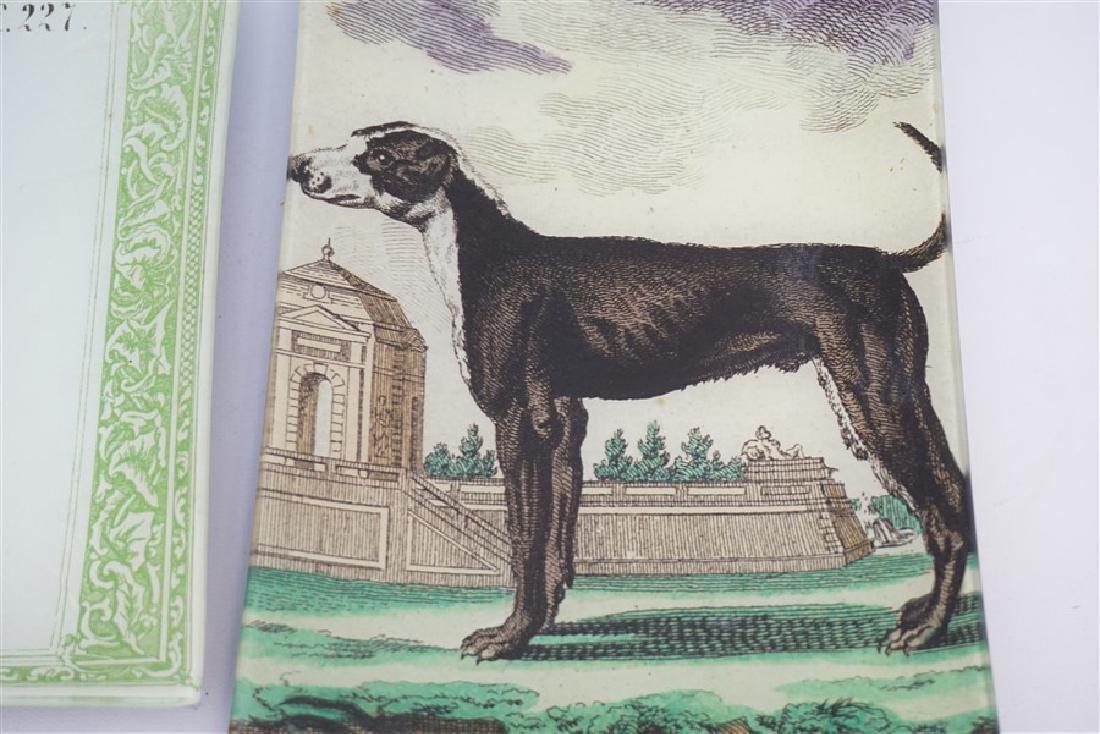 2 JOHN DERIAN TRAYS DOG & DRAGONFLY - 2