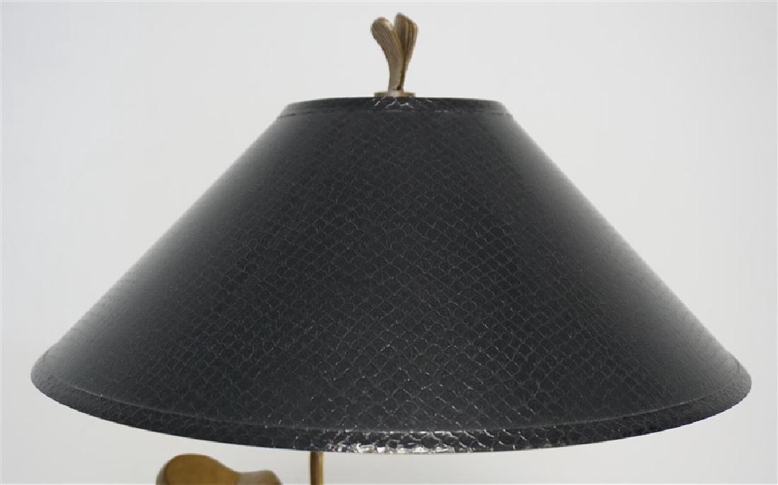 VINTAGE CHAPMAN JUMPING CARP LAMP - 8