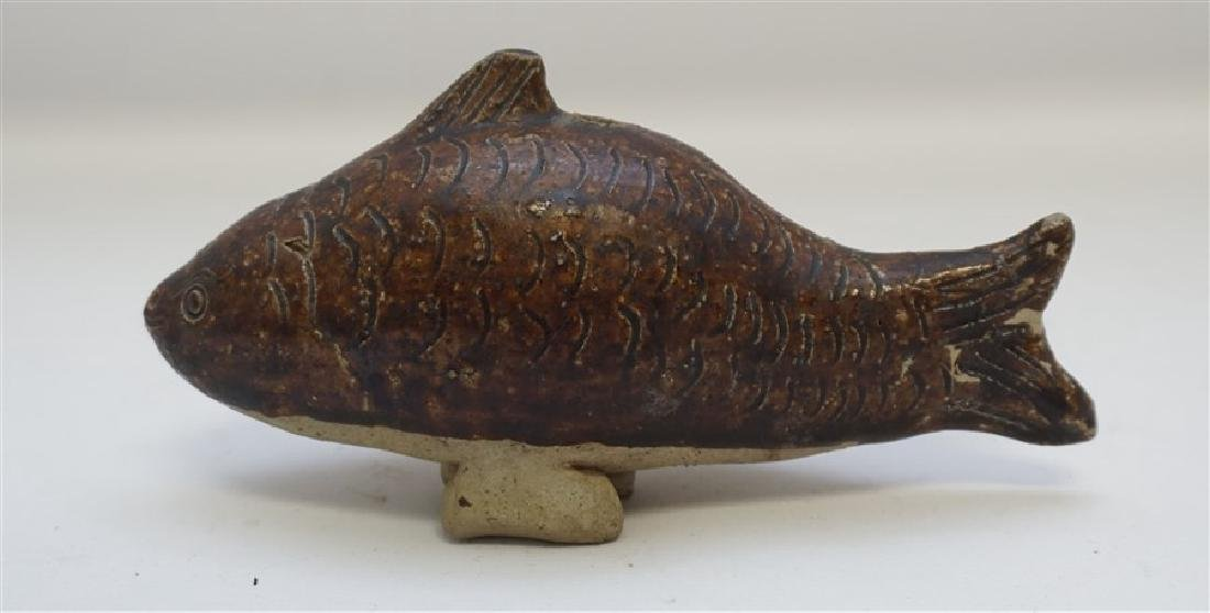 KHMER POTTERY FISH WATER DROPPER - 2