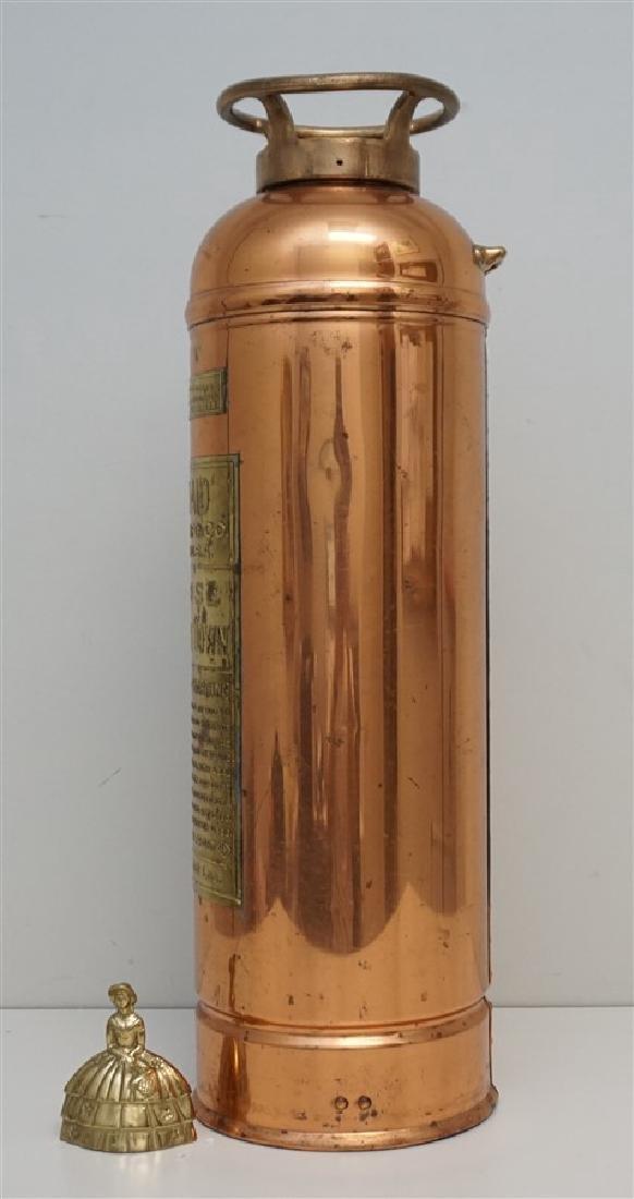 W.D. ALLEN COPPER & BRASS FIRE EXTINGUISHER - 7