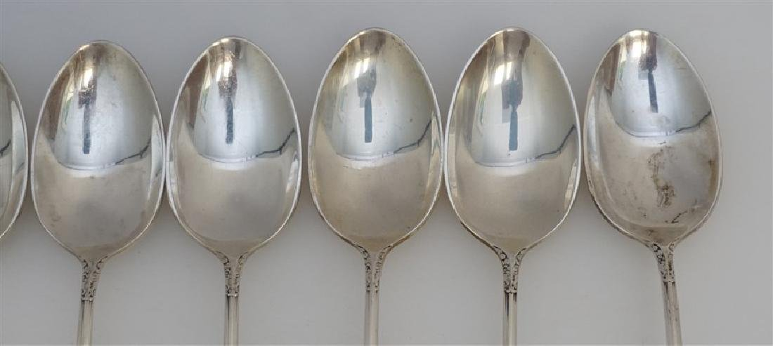 8 INTERNATIONAL STERLING ENCHANTRESS ICED TEA SPOONS - 3