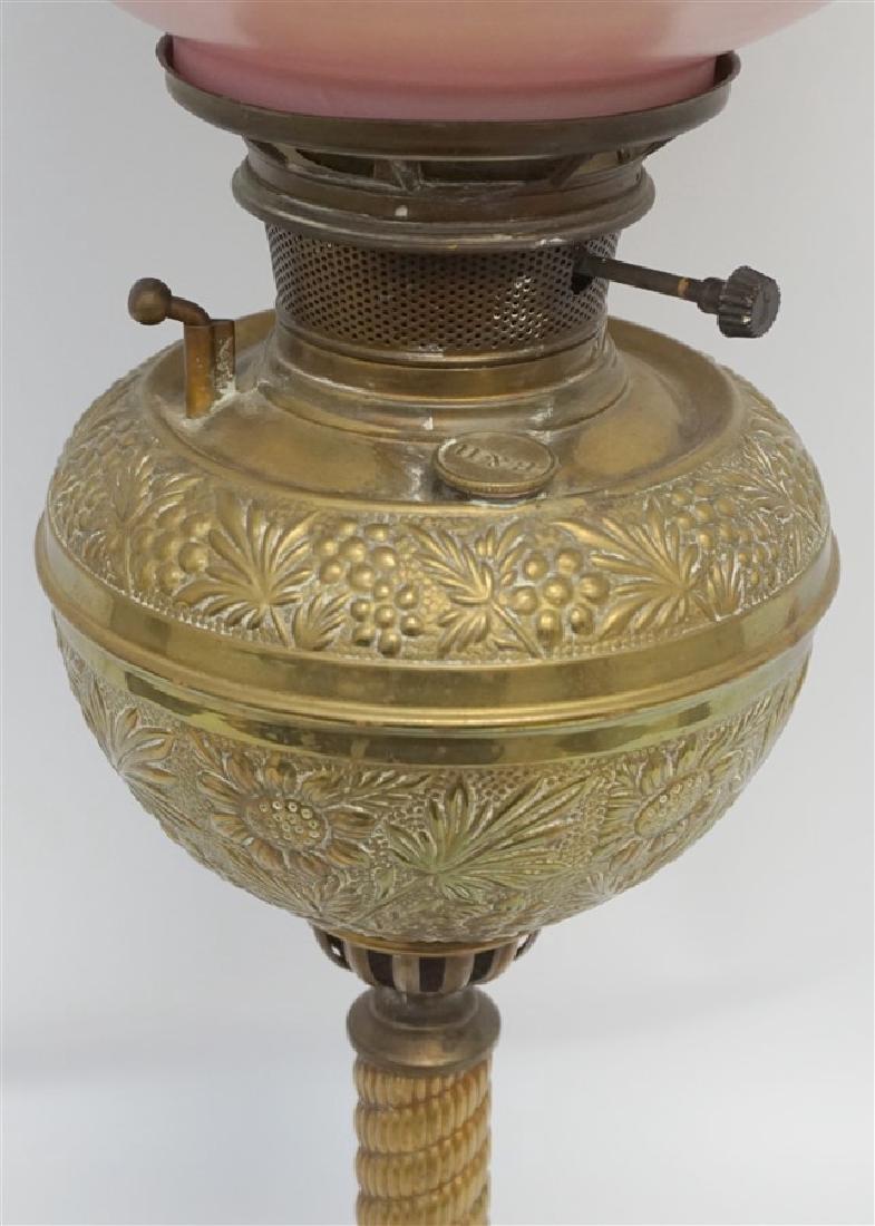 VICTORIAN BRADLEY & HUBBARD LAMP - 3
