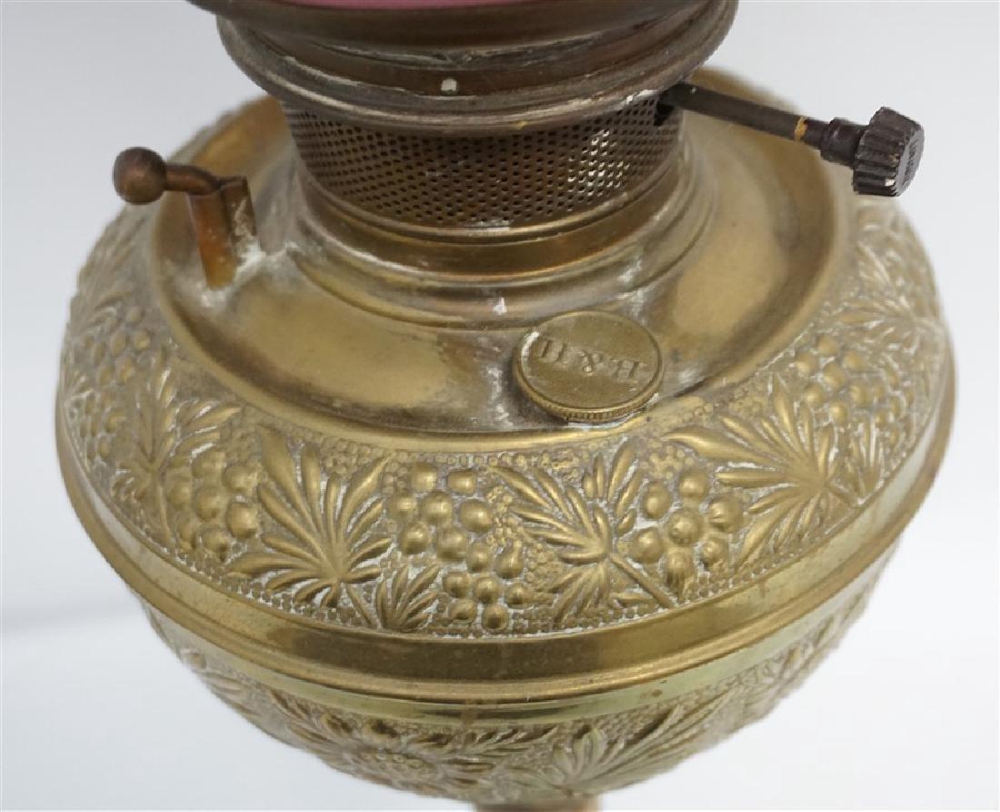 VICTORIAN BRADLEY & HUBBARD LAMP - 6