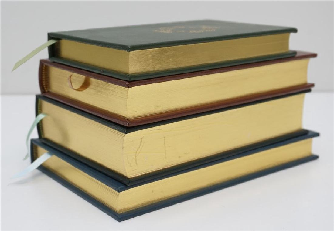 4 RARE GUN BOOKS - LEATHER BOUND PALLADIUM PRESS - 4