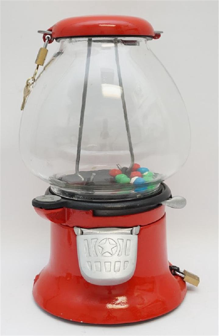 COLUMBUS 1930s PENNY GUMBALL MACHINE
