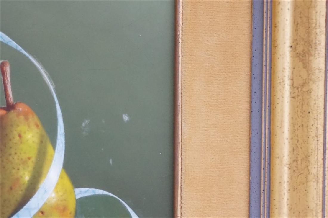 GERALD P STINSKI (1929-2015) RIBBONED PEAR STILL LIFE - 8