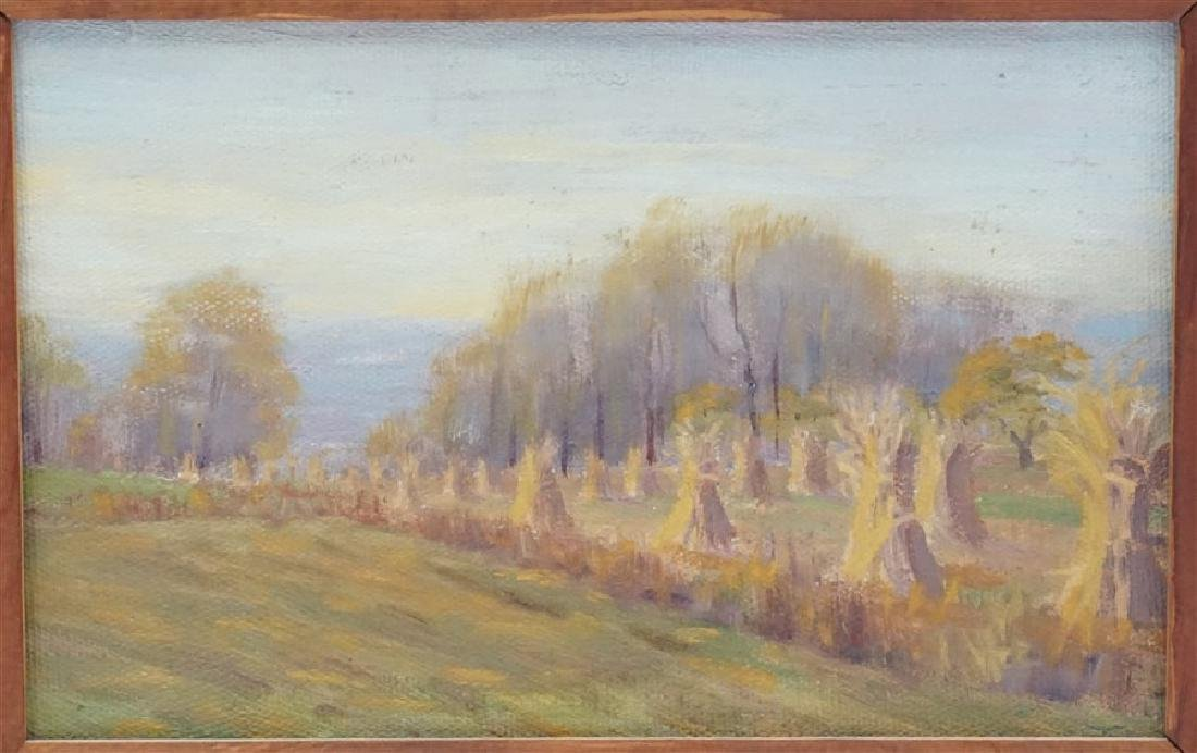 JACOB S ROYER 1918 CORNSHOCKS INDIAN SUMMER - 2