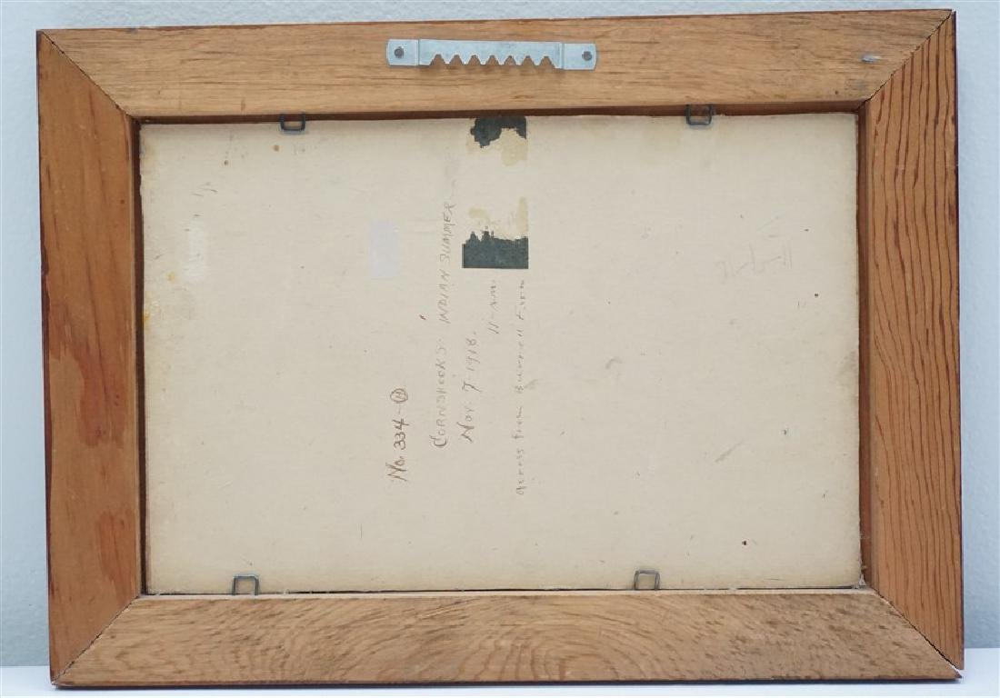JACOB S ROYER 1918 CORNSHOCKS INDIAN SUMMER - 3