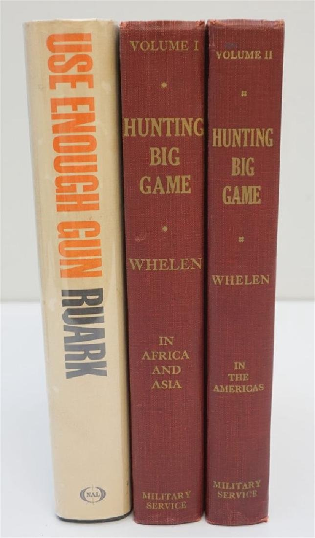 3 VINTAGE COLLECTIBLE 1ST EDITION HUNTING BOOKS
