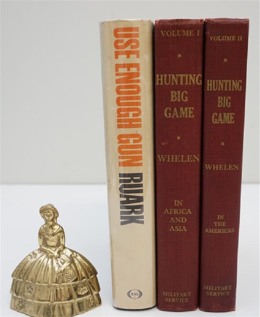 3 VINTAGE COLLECTIBLE 1ST EDITION HUNTING BOOKS - 4