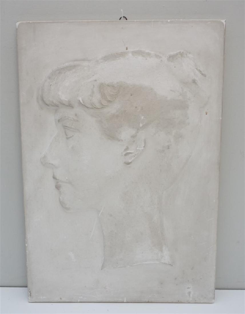 WILLARD HIRSCH (1905-1982)  PLASTER BAS RELIEF