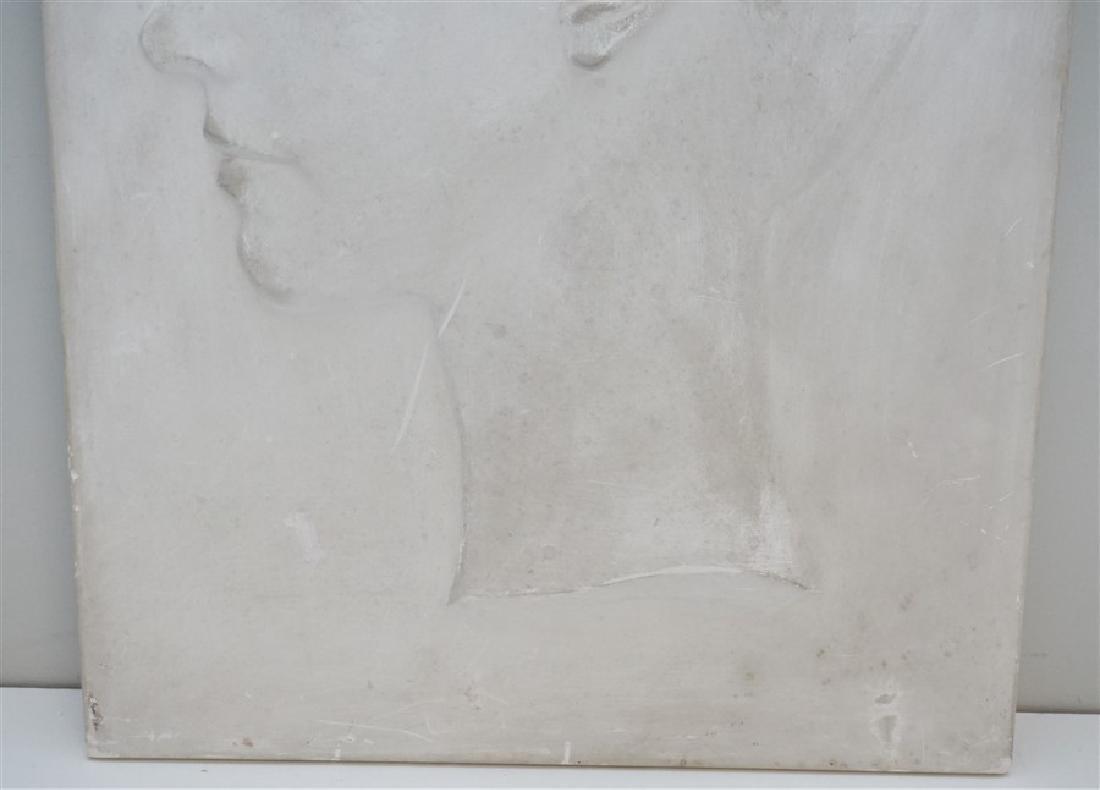 WILLARD HIRSCH (1905-1982)  PLASTER BAS RELIEF - 3