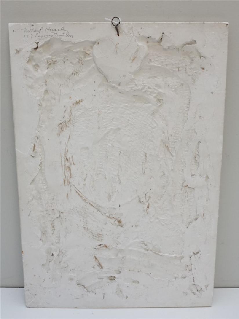 WILLARD HIRSCH (1905-1982)  PLASTER BAS RELIEF - 6