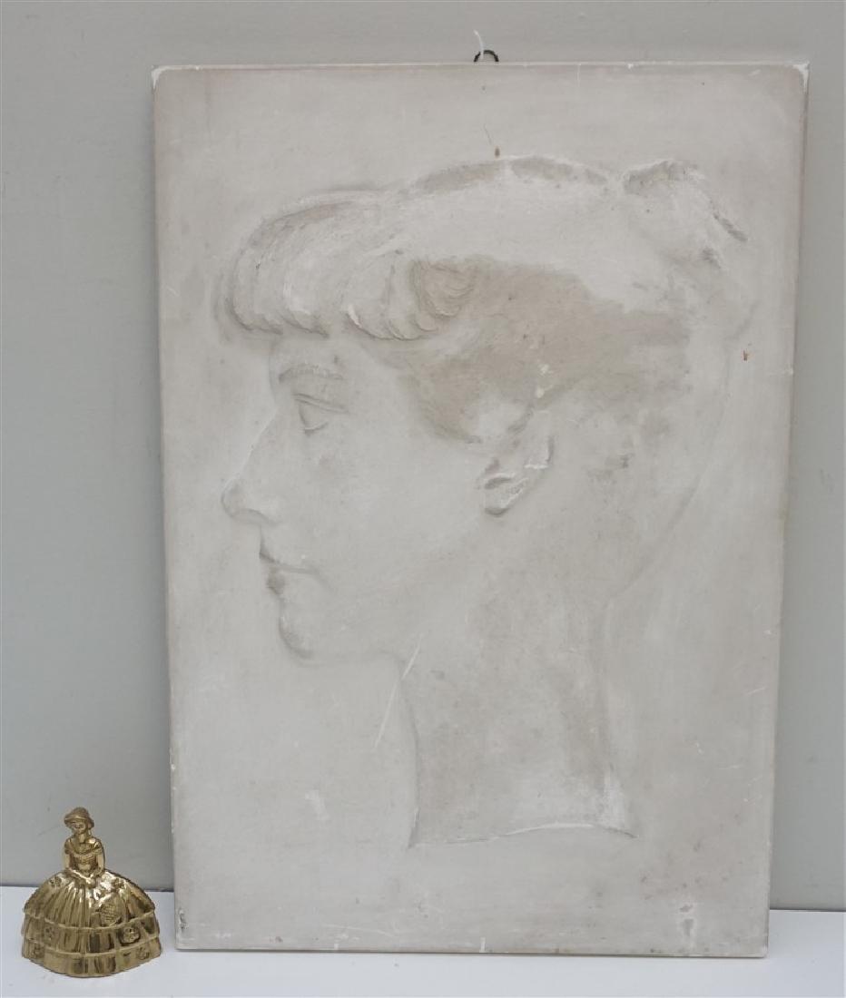 WILLARD HIRSCH (1905-1982)  PLASTER BAS RELIEF - 8