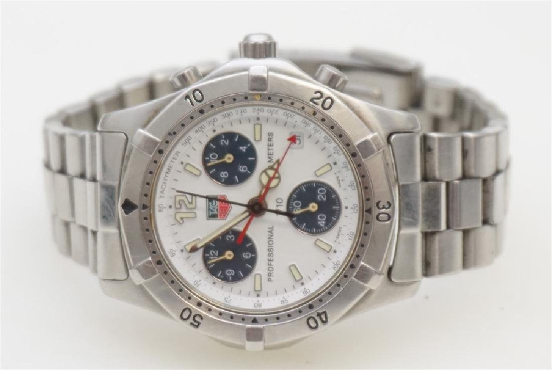 TAG HEUER STAINLESS CHRONOGRAPH CK1111