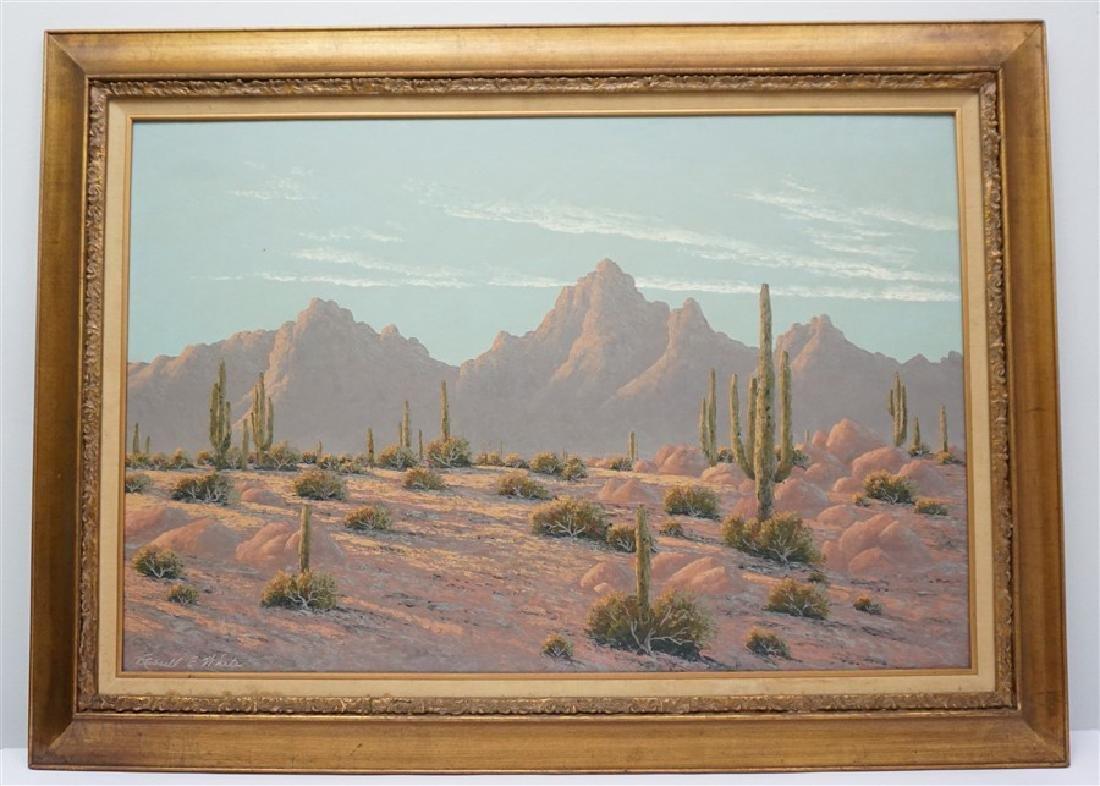 RUSSELL E WHITE (1921-18987) PALM SPRINGS DESERT