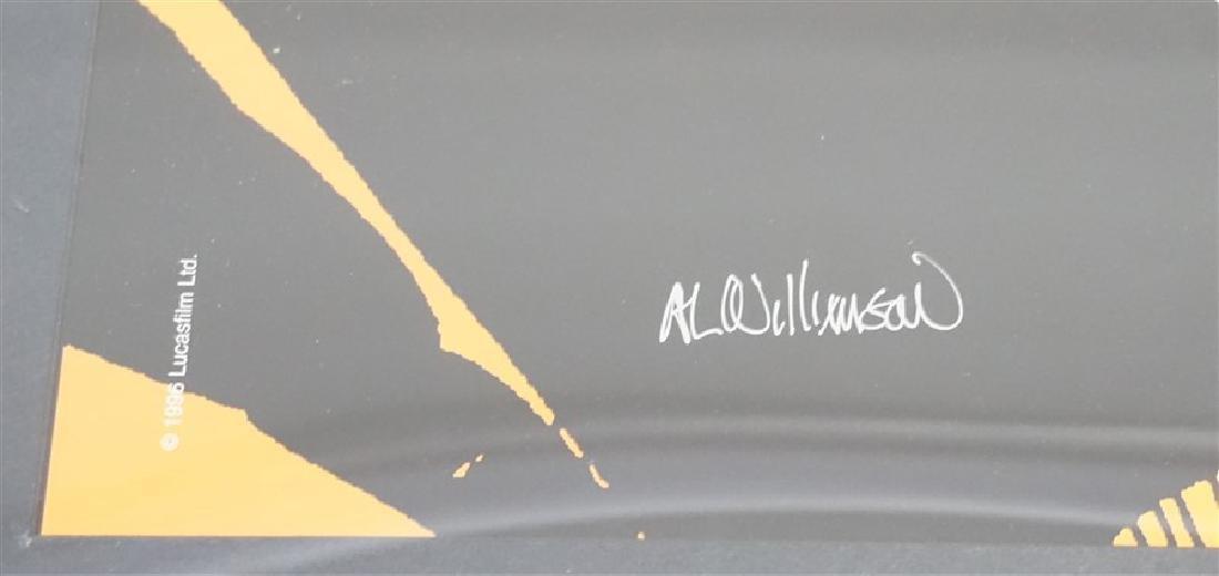 AL WILLIAMSON STAR WARS LUKE SKYWALKER LITHOGRAPH - 4