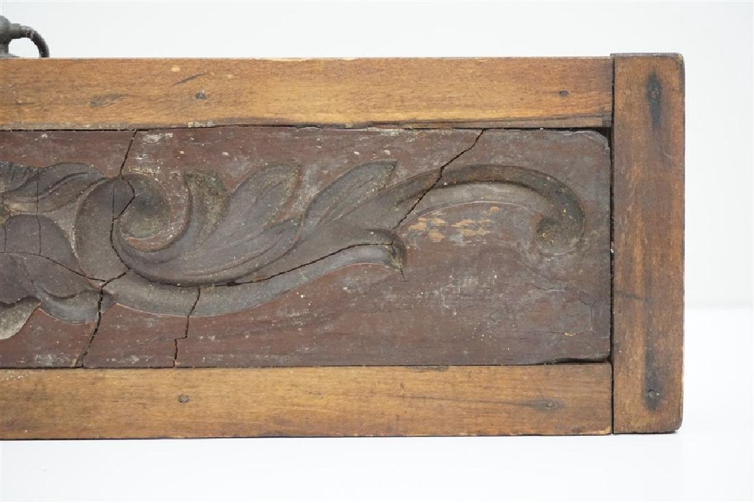 AMERICAN 18h c. ARCHITECTURAL WOOD MOLD - 3