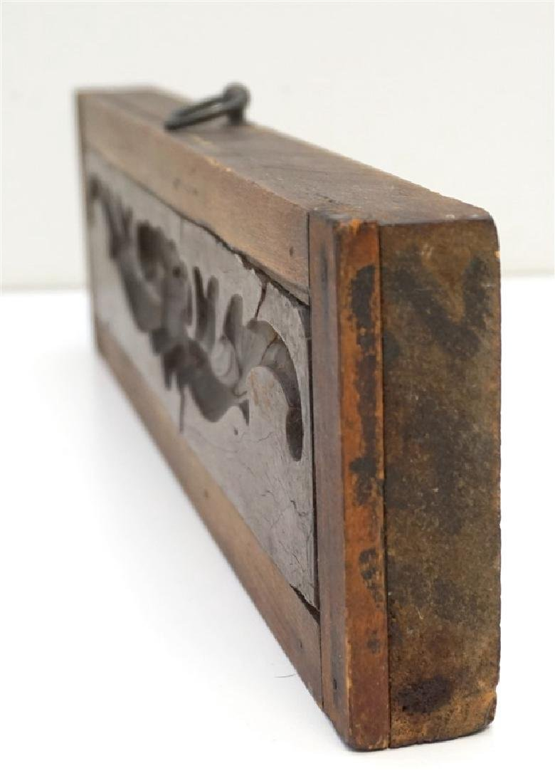 AMERICAN 18h c. ARCHITECTURAL WOOD MOLD - 7