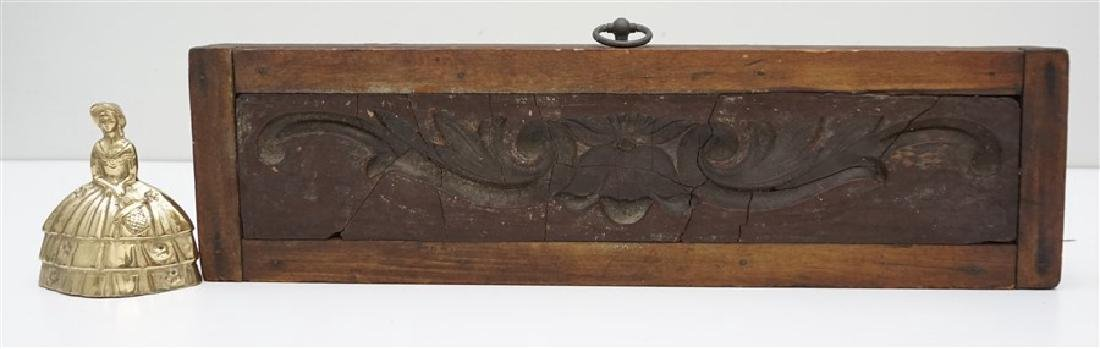 AMERICAN 18h c. ARCHITECTURAL WOOD MOLD - 8