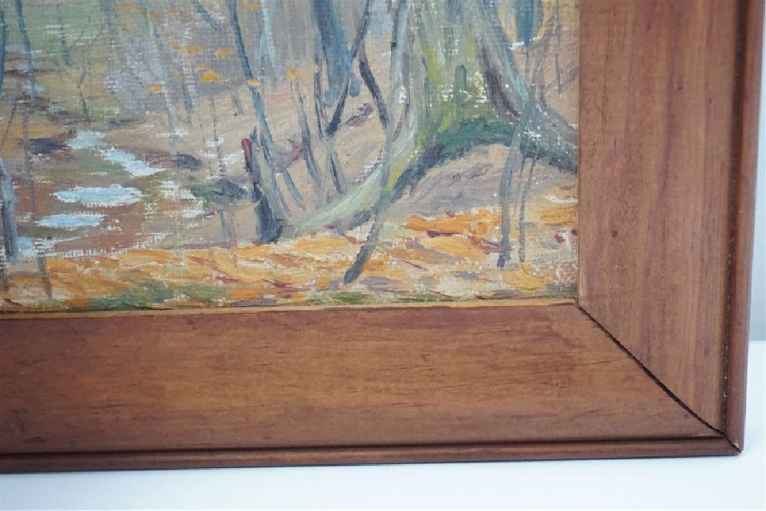 JACOB S ROYER 1928 RAVINE IN WINTER - 3