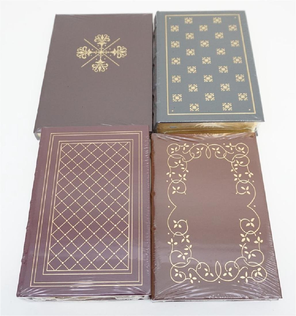 4 RARE GUN BOOKS - LEATHER BOUND PALLADIUM PRESS - 4