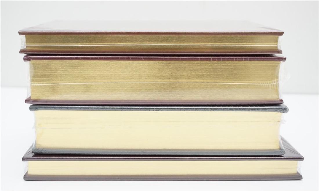4 RARE GUN BOOKS - LEATHER BOUND PALLADIUM PRESS - 5