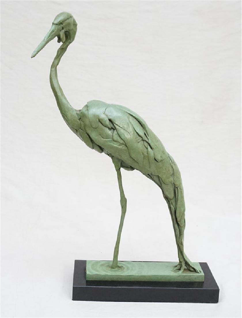BART WALTER (AMERICAN/MD/NY, b. 1958) BRONZE STEPPING