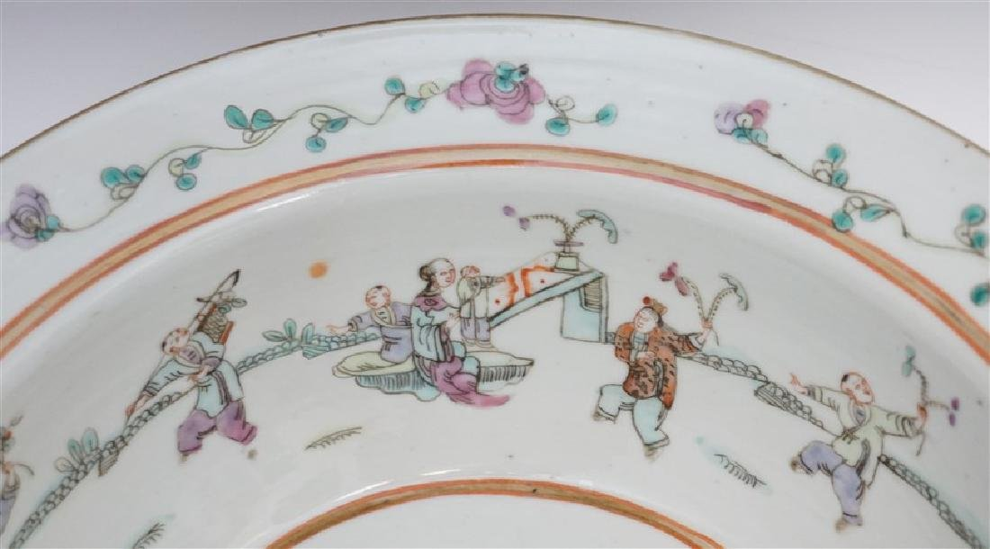 CHINESE QING DYNASTY EXPORT BOWL - CHI-LIN - 4