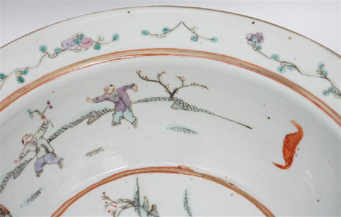 CHINESE QING DYNASTY EXPORT BOWL - CHI-LIN - 5