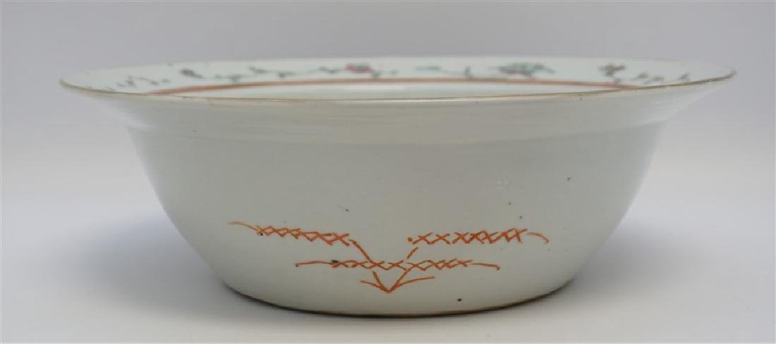 CHINESE QING DYNASTY EXPORT BOWL - CHI-LIN - 9