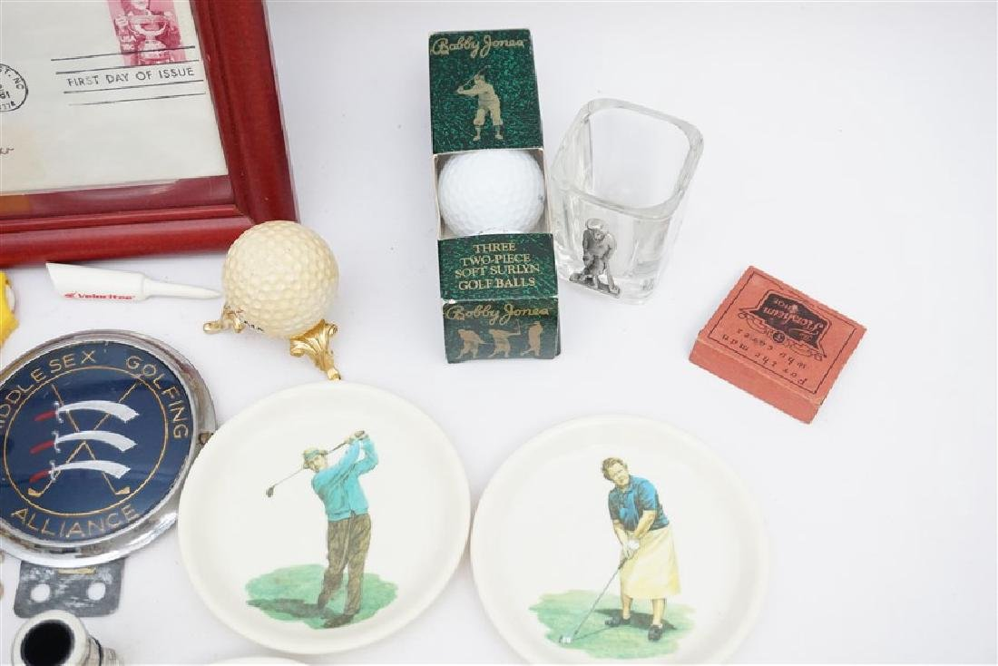 LARGE LOT VINTAGE RETRO GOLF COLLECTIBLES - 5