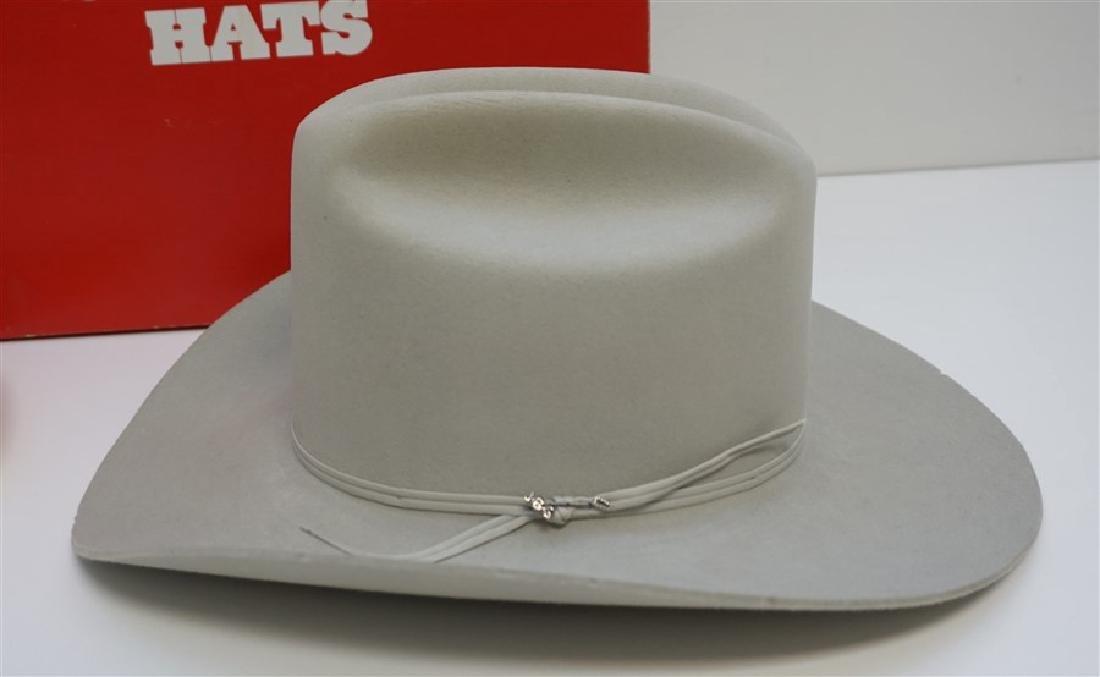 2 STETSON + COWBOY HATS ORIG BOX - 2