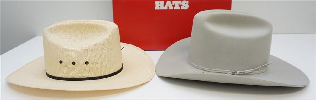 2 STETSON + COWBOY HATS ORIG BOX - 3