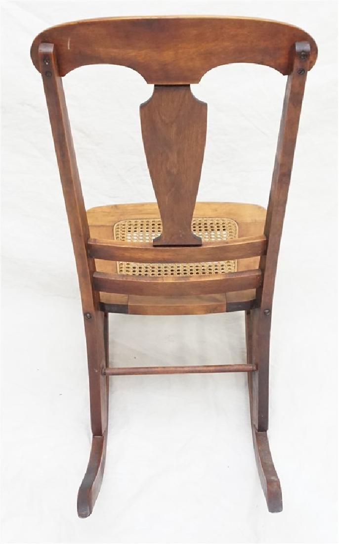 ANTIQUE AMERICAN ROCKING CHAIR - 6