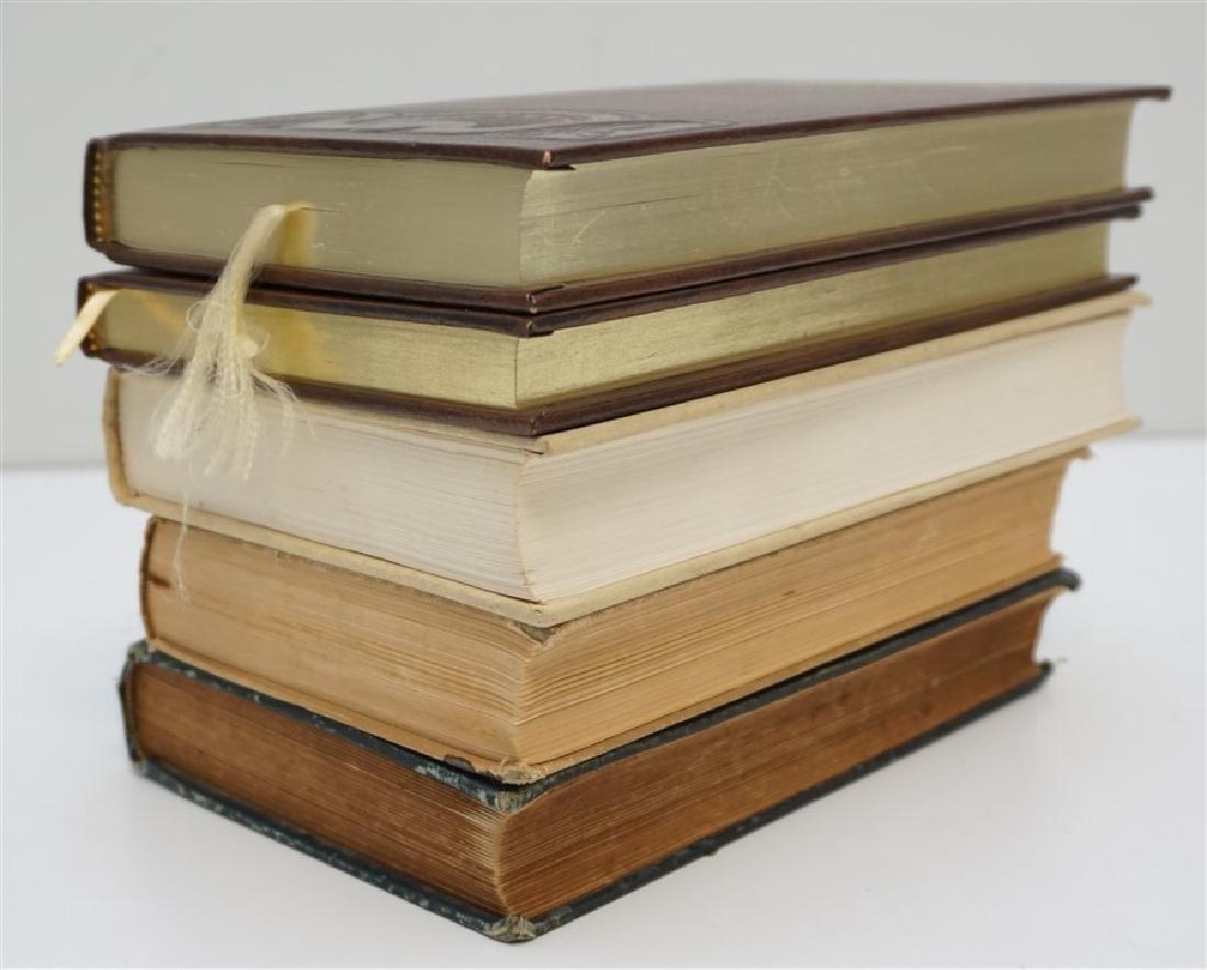 5 ANTIQUE/VINTAGE COWBOY WESTERN BOOKS - 3