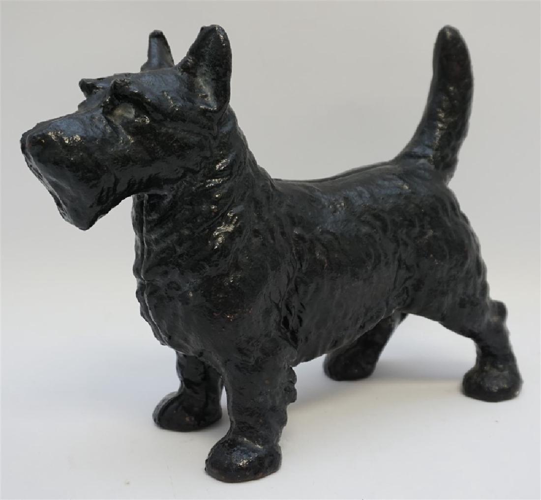 LARGE SCOTTIE DOG CAST IRON DOORSTOP