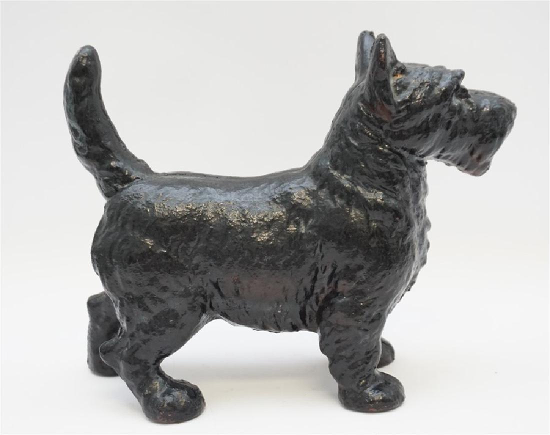 LARGE SCOTTIE DOG CAST IRON DOORSTOP - 4