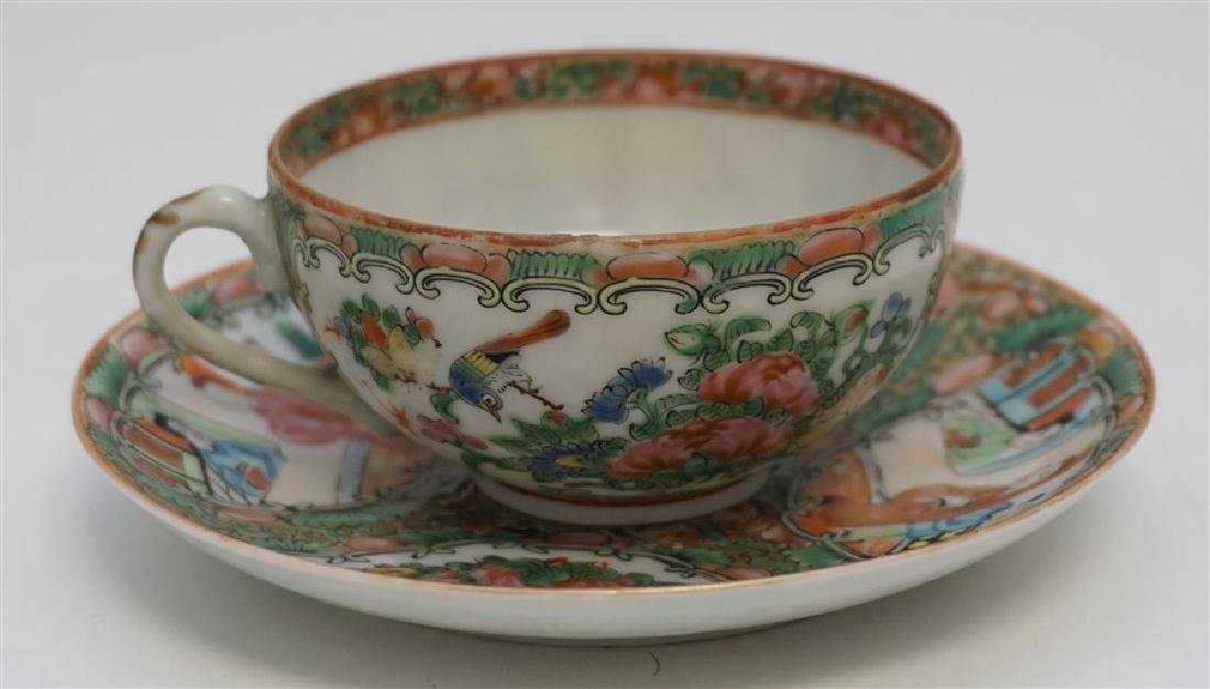 ROSE MEDALLION CUP AND SAUCER - 2
