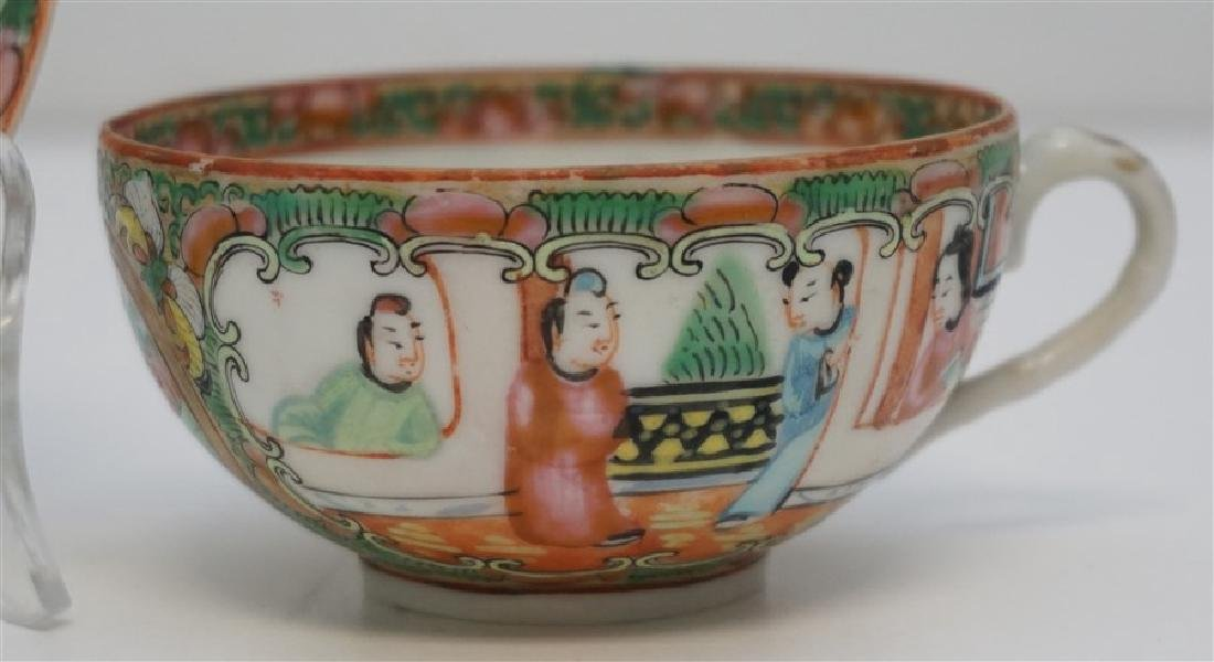 ROSE MEDALLION CUP AND SAUCER - 4