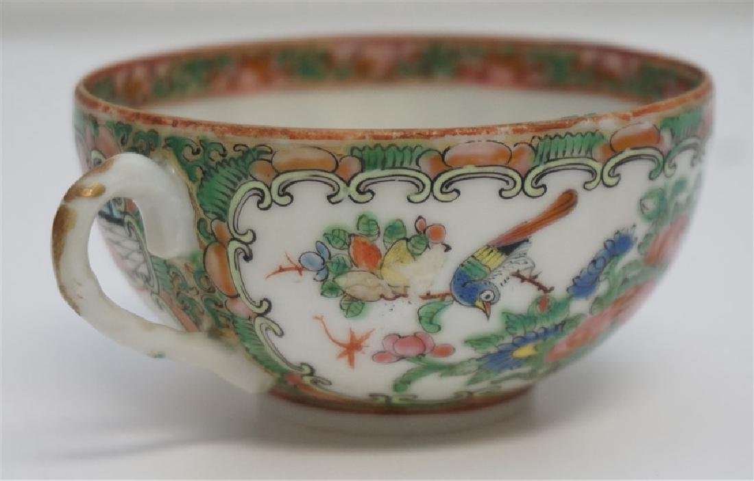 ROSE MEDALLION CUP AND SAUCER - 5