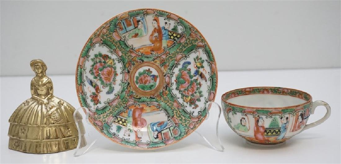 ROSE MEDALLION CUP AND SAUCER - 6